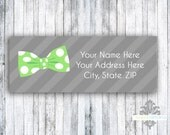 Return Address Labels - Set of 60 - Little Mister