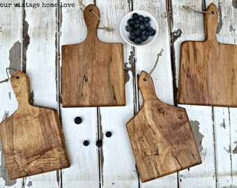 Reserved for Ellen - Mini French Bread Boards - Set of 8