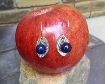 Fine Silver Pendant Earrings