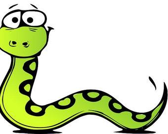 Snake pattern, snake cross stitch, cross stitch pattern, green pattern, animal pattern, animal cross stitch,  PATTERN ONLY-instant download