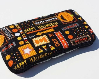 Baby Wipes Case, Travel Wipes Case Halloween Holiday Print