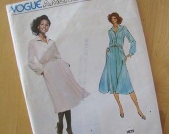 Uncut Vintage Vogue Sewing Pattern 1829 - Jerry Silverman - Size 14