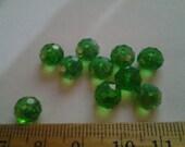 Swarovski Beads - Peridot Green - Lot of 10 loose beads