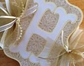Happy Anniversary Banner Custom 50th Golden