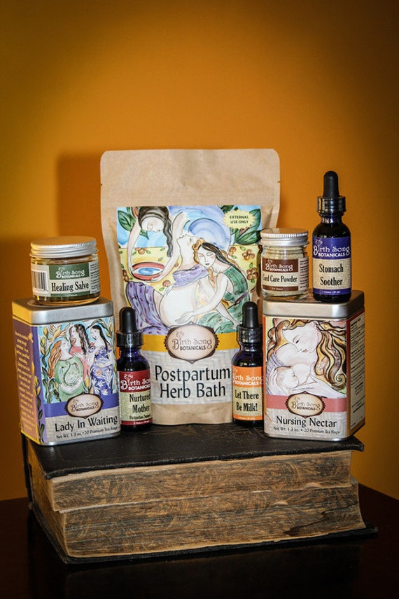 Best Baby Gift Sets : Best baby shower and new mom herbal gift by