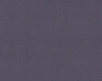 EOB Clearance, 1/2 Yard, Solid Gray Fabric, Kona Cotton by Robert Kaufman, Steel Grey Fabric, Gray Fabric, Solid Gray Fabric, 03030