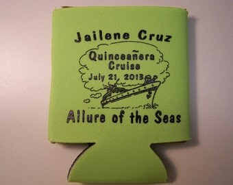 WEDDING FAVOR : Custom Can Cooler 10