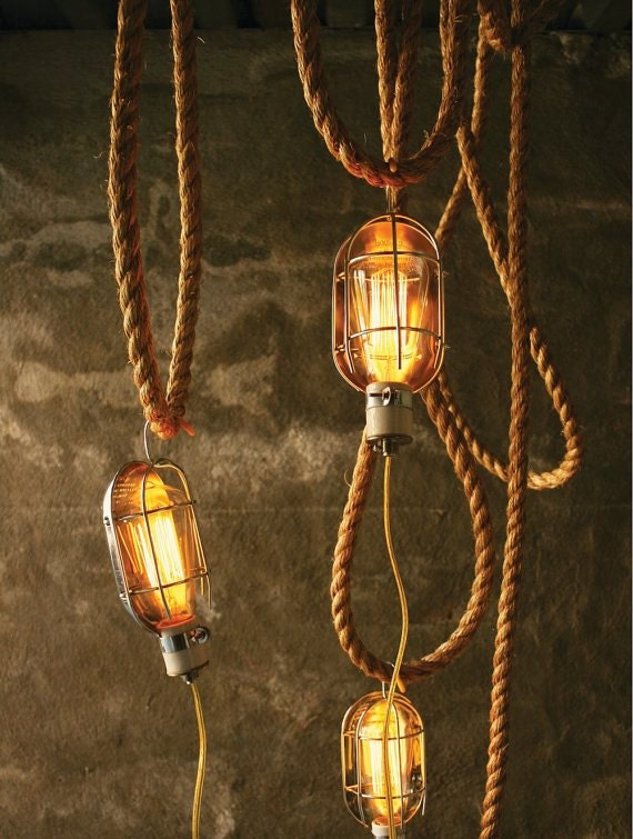 Items Similar To Industrial Cage Light Lamp Lamps Cool