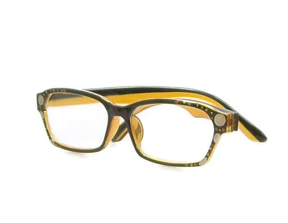 items similar to two tone reading glasses 175 strength