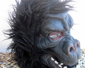 Vintage 70s 80s Classic Movie Monster Mask. Gorilla, Godzilla, Planet of the Apes, Creature Hood