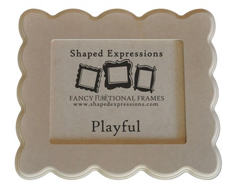 5x7 picture frame - Playful unfinished
