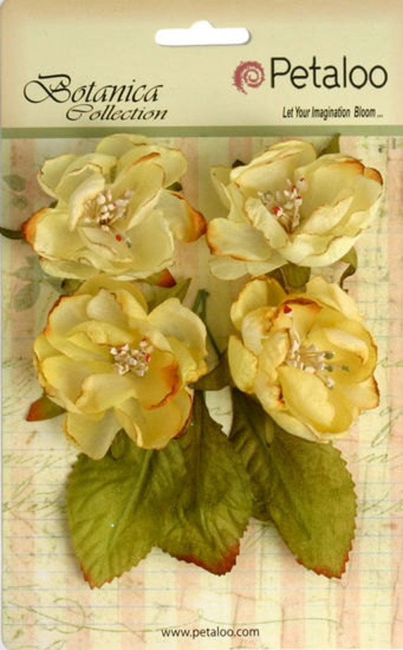 Petaloo - Botanica Collection - Soft Yellow - 4-Pack (1102-103)