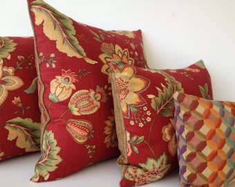 Floral Pillow Set - Throw Pillows - Toss Pillows