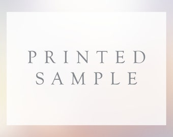 1 - Printed Sample for Design of your Choice
