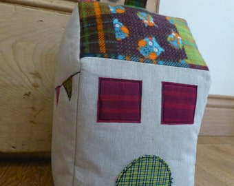 PDF Pattern: 'Little House' Doorstop