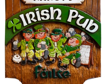 Irish Pub Sign Personalized