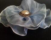 1 Ribbon Fabric Flower