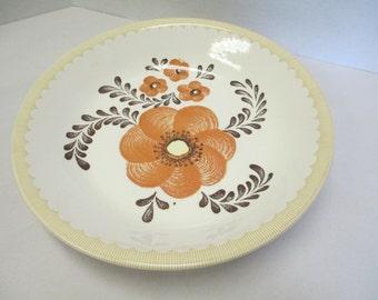 Royal China Jeannette dish flower pattern