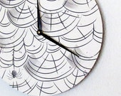 Spider Wall Clock, Spider Decor, The Itsy Bitsy Spider,  Decor and Housewares, Home Decor, Home and Living, Unique Gift - Shannybeebo