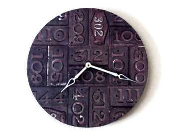 Unique Wall Clock, Rustic Clock, Recycled Art,  Decor and Housewares, Home and Living, Home Decor ,Unique Wall Clock, Unique Gift, Trending