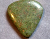 Hand Cut Stone Jasper Guitar Pick