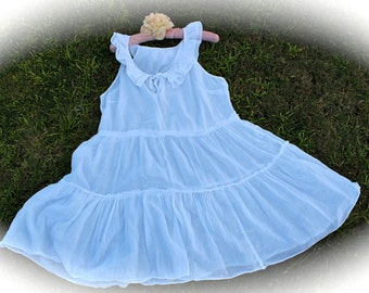 Izzy Roo Alice In Wonderland Style Dress Boho Romantic  Shabby Chic Victorian Vintage Style Cowgirl Prairie