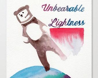 Unbearable Lightness // Chromogenic Photographic Print