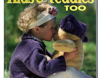 Knits For Kids & Teddies Too Knit Pattern Book Bay Book Publications