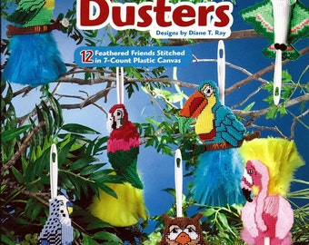 Feather Dusters  Plastic Canvas Pattern Book The Needlecraft Shop 845509