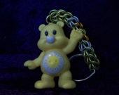 Custom Funshine Bear chainmaille keychain