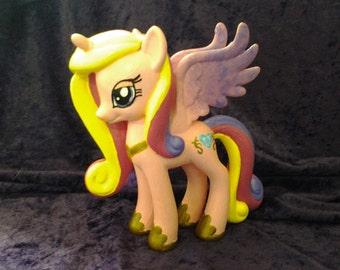 Super Holiday Sale 10.00 off regular price.  Custom Princess Cadance My Little Pony figure