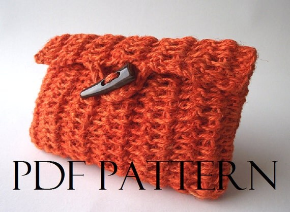 Clutch Bag Crochet : CROCHET BAG PATTERN Clutch Bag Pouch Bag Crochet Purse Bag pdf pattern ...