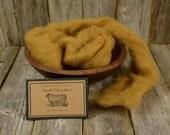Rye - Needle Felting Wool - Natural Wool Roving - Wet Felting Wool-Nuno Felting-Spinning