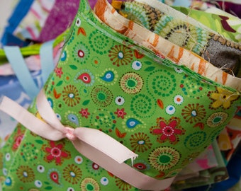 Scrap Fabric Packs.  Mix and Matched.  Fun Patterns.  Project ready.