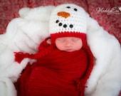 Snowman Hat, Snowman, Winter Hat, Photo Prop