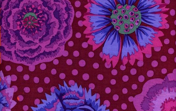 1 2 yard kaffe fassett fabric 100 cotton quilt fabric big. Black Bedroom Furniture Sets. Home Design Ideas