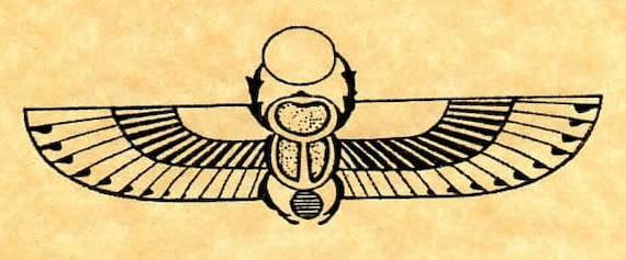 egyptian winged scarab - photo #15