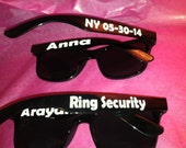 Ring Bearer Personalized Sunglasses