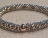 Kit to Make This Beautiful Bead Crochet Bracelet - Thread & Beading Needle Included