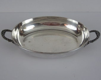 Vintage Silverplate Casserole or Serving Dish