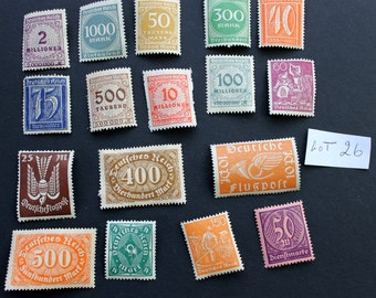 15 Vintage Stamps from Germany (lot 26)