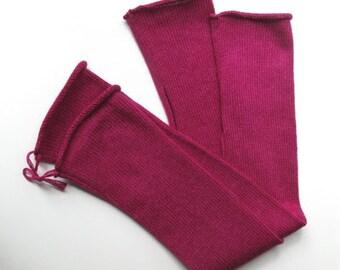 3ply Cashmere & Silk Fingerless Gloves
