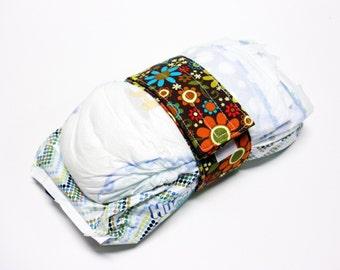 Floral Diaper Strap - Multi Color Floral