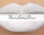 "White Lipstick Sample - ""Marshmallow"" (white vegan lipstick) natural lip tint, balm, lip colour opaque mineral lipstick"
