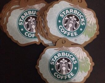 Starbucks favor Tags