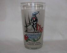 1990 Kentucky Derby Drinking Glass Tumbler Vintage