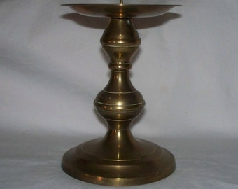 Brass Candle Holder Made in India Vintage