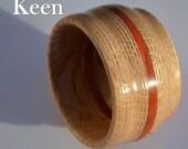 cg - Keen Handcrafted Handmade Oak Bowl