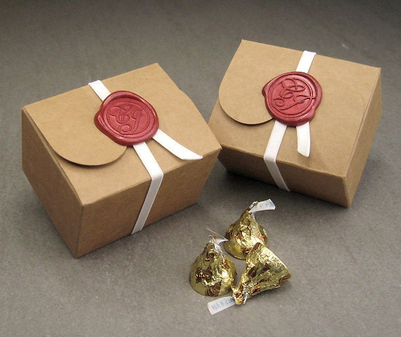 small size wedding favor box kraft gift box and wedding