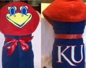 Sports Fan Hooded Towel - Free Personalization